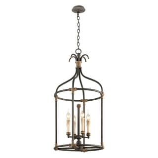 Troy Lighting Surrey 4-light Medium Pendant Lantern