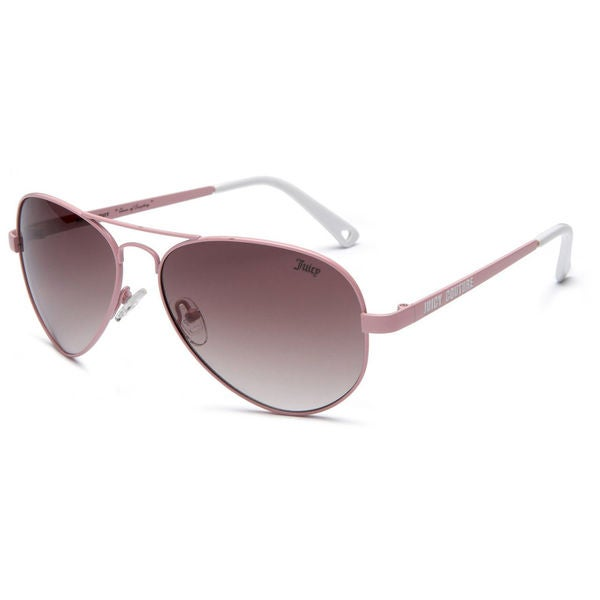 96c933960a Shop Juicy Couture Women s Heritage S Aviator Sunglasses - Pink ...