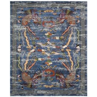 Barclay Butera Dynasty Imperial Midnight Area Rug by Nourison (7'9 x 9'9)