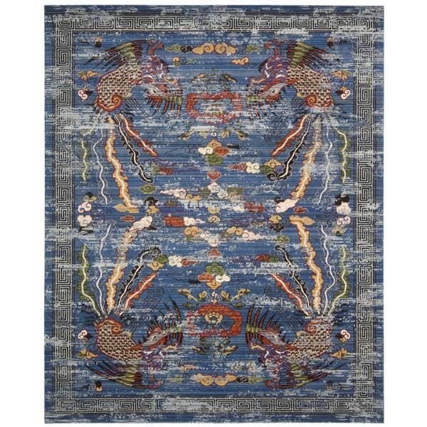 Barclay Butera Dynasty Imperial Midnight Area Rug By Nourison 8 X27