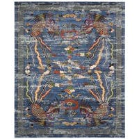 Barclay Butera Dynasty Imperial Midnight Area Rug by Nourison - 8'6 x 11'6