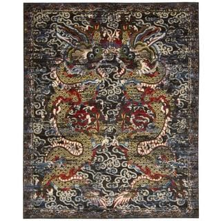 Barclay Butera Dynasty Empress Midnight Area Rug by Nourison (8'6 x 11'6)