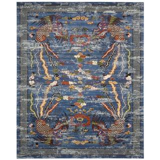 Barclay Butera Dynasty Imperial Midnight Area Rug by Nourison (5'6 x 8')