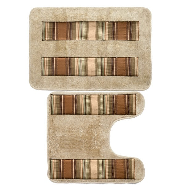 Ultra-Modern Bath and Contour Rug Set or Separates