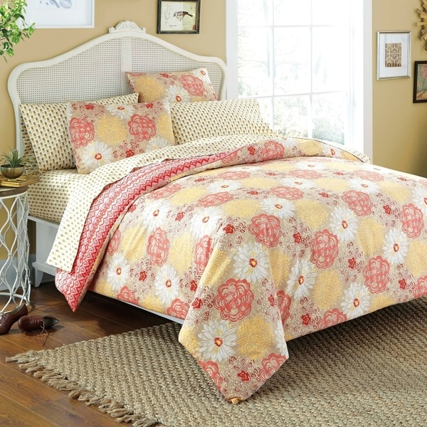 Wildflower 7-piece Bed in a Bag with Sheet Set
