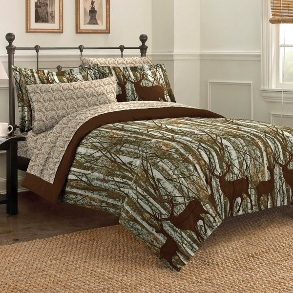 Forest 7-piece Bed in Bag with Sheet Set