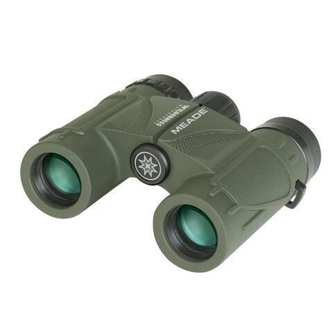 Meade 125021 Wilderness Binoculars 10x25 Green