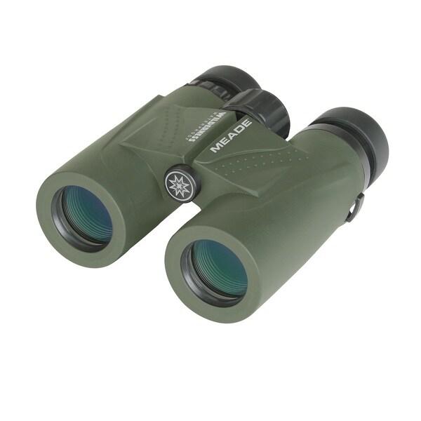 Meade 125023 Wilderness Binoculars 10x32 Green