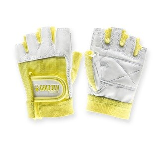 Womens Grizzly Paw Gloves Yellow