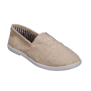 Coshare Forever Kid's Murphy-23K Canvas PU Basic Slip-on Sneakers
