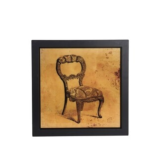 Vintage Chair Portrait Wall Art