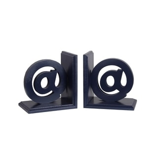 @' Shaped Bookends (Set of 2)