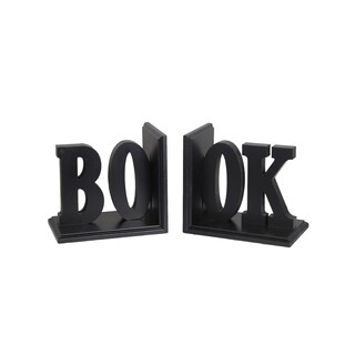 Book' Word Bookends (Set of 2)