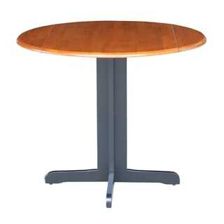 International Concepts Dual Drop Leaf 36-inch Dining Table