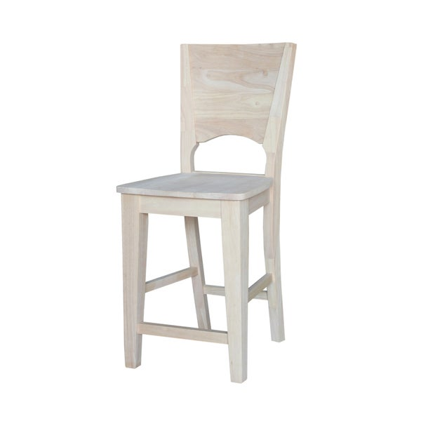 Canyon 24 Inch Counter Height Stool Unfinished