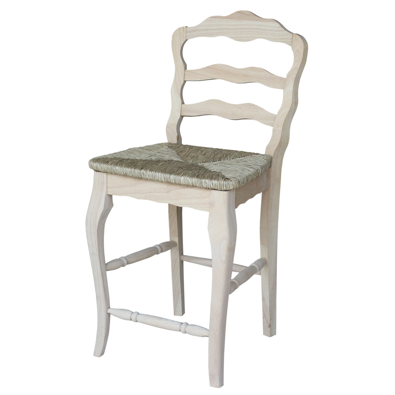 International Concepts Versailles 24-inch Rush Seat Count...