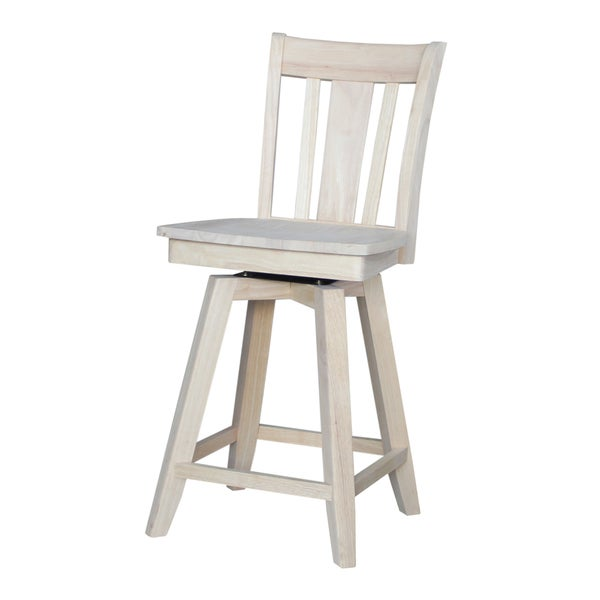 Shop San Remo 24 Inch Counter Height Stool With Auto Return Swivel