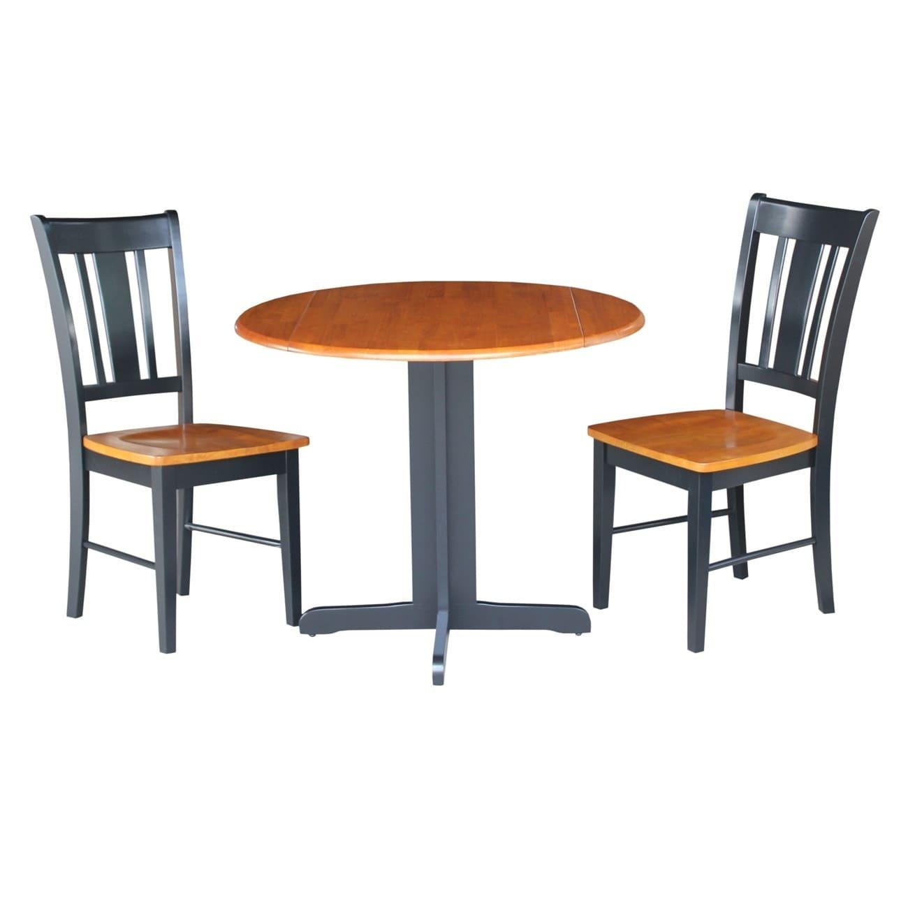 International Concepts Dual Drop Leaf 36-inch Dining Tabl...