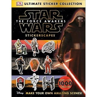 Star Wars: The Force Awakens Stickerscapes (Paperback)