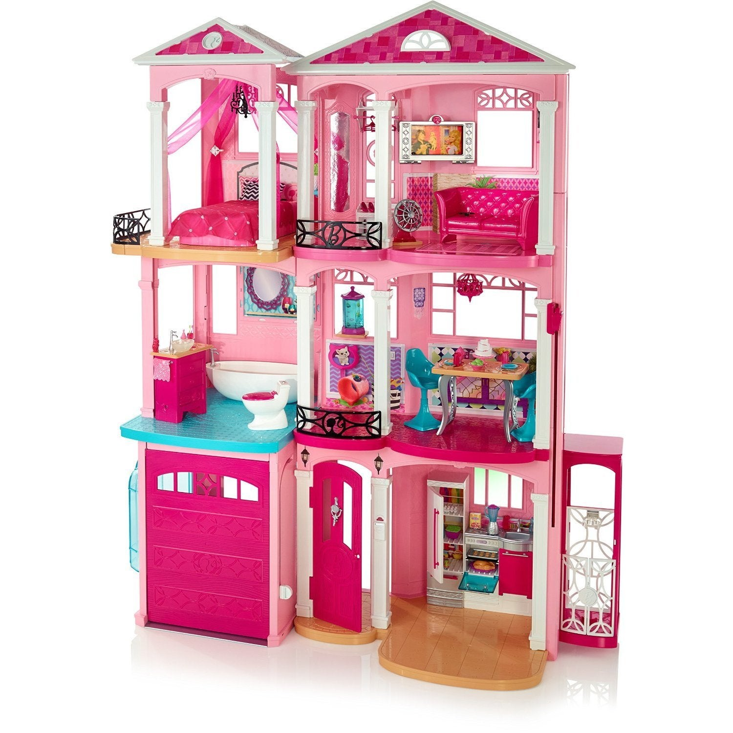 Mattel Barbie Dreamhouse Dollhouse (Barbie Dreamhouse CJR...