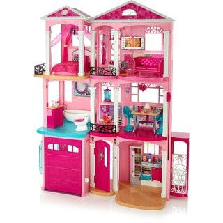 Barbie Dreamhouse Dollhouse|https://ak1.ostkcdn.com/images/products/10150858/P17280596.jpg?impolicy=medium