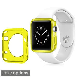 Insten TPU Rubber Candy Smart Watch Bumper Frame Case for 38mm Apple Watch