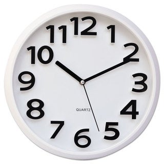 Universal White Round Wall Clock
