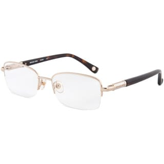 Michael Kors MK359 717 Rectangle Goldtone Optical Eyeglasses