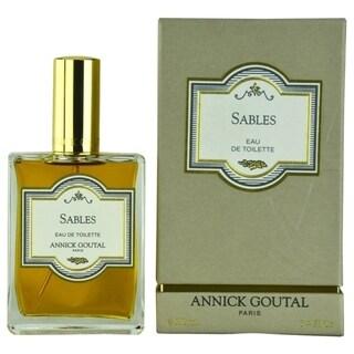 Annick Goutal Sables Men's 3.3-ounce Eau de Toilette Spray (New Packaging)