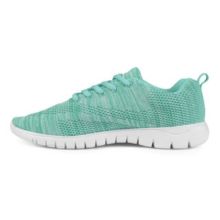 Journee Collection Women's 'Snapdragon' Marled Lightweight Sneakers