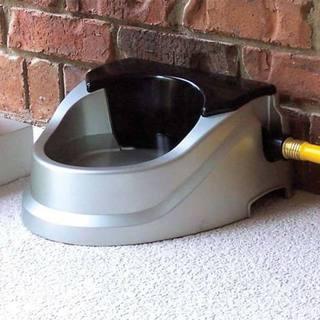 RPI Aqua Buddy Grey 2-quart Automatic Float Pet Waterer