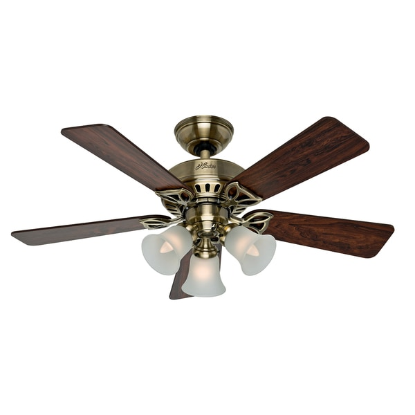 Hunter 42-inch Beacon Hill Lighted Ceiling Fan