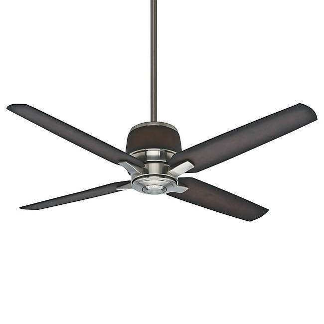Casablanca 54-inch Aris Brushed Cocoa Ceiling Fan (Reversible Air Flow/ETL Listed/Energy Efficient)