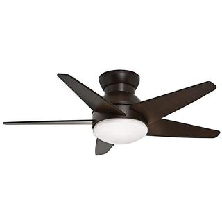 Casablanca 44-inch Isotope Brushed Cocoa 5-blade Ceiling Fan - Brushed Cocoa/Espresso/White