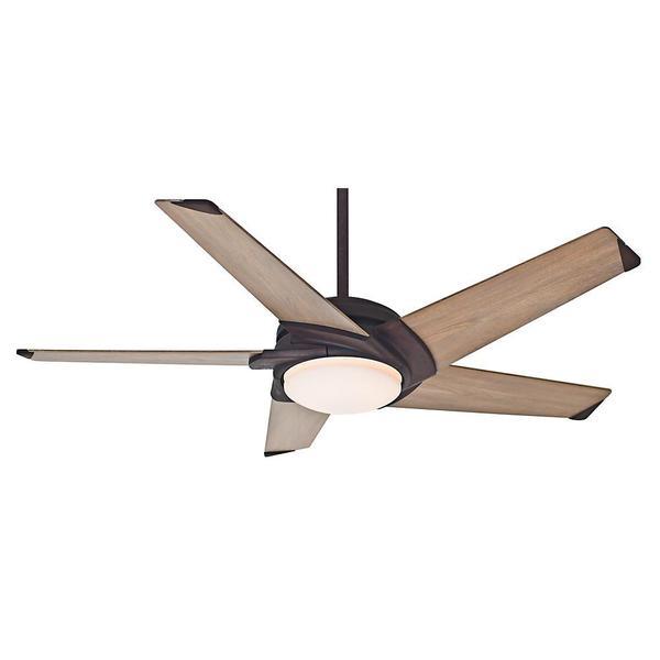 Casablanca 54-inch Stealth Industrial Rust 5-blade Ceiling Fan