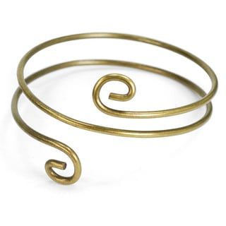 Sweet Romance Retro Spiral Upper Arm Cuff