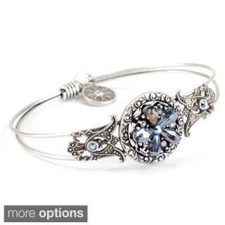 Sweet Romance Bead Flower Boho Beach Bangle Bracelet|https://ak1.ostkcdn.com/images/products/10151309/P17280984.jpg?impolicy=medium