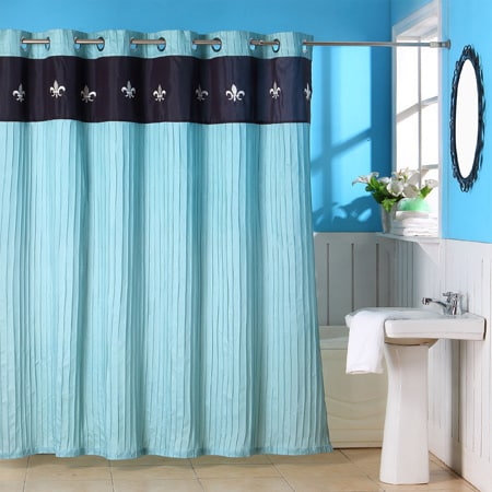 Windsor Home Crestwood Shower Curtain with Grommets