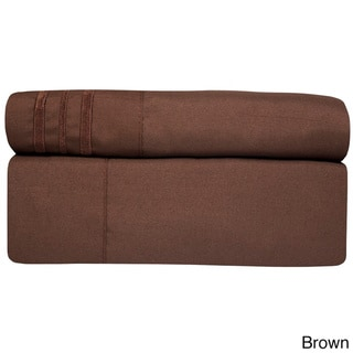 Incredibly Soft 4-piece Deep Pocket Bed Sheet Set