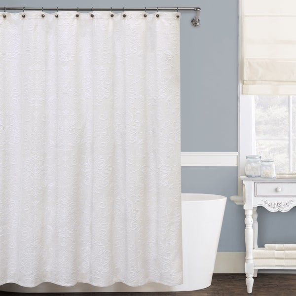lamont home isabella shower curtain 5 sizes available