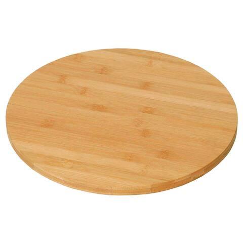 KitchenWorthy Bamboo Lazy Susan (Case of 12)