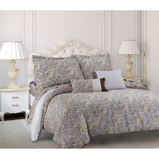 Tribeca Living Fiji Printed Cotton Paisley 5-piece Duvet Cover Set|https://ak1.ostkcdn.com/images/products/10151437/P17280710.jpg?impolicy=medium