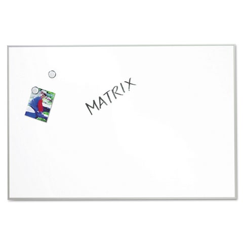 Quartet White Matrix Magnetic Boards
