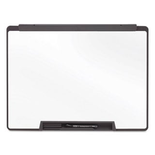 Quartet White, Black Frame Motion Portable Dry Erase Board