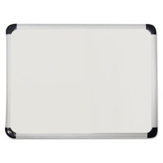 Universal One White Porcelain Magnetic Dry Erase Board