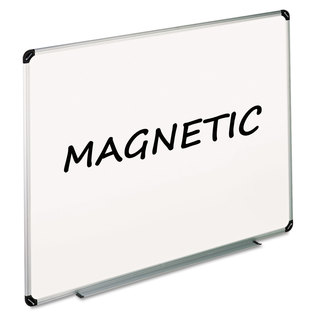 Universal One White Magnetic Dry Erase Board