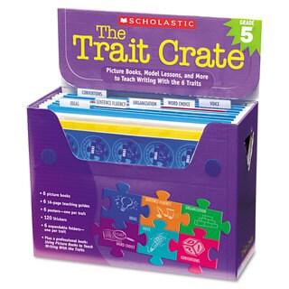 Scholastic Trait Crate Grade 5 Stickers
