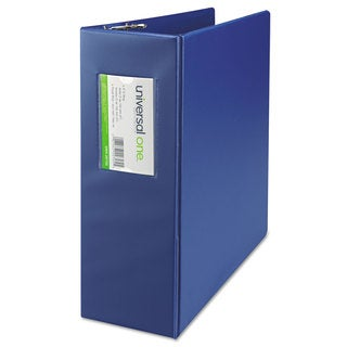 Universal One Royal Blue D-Ring Binder (Pack of 2)