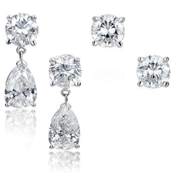 pear diamond reuvengitter pearshaped edit chicago shaped product jacket stud without with studs jewelers earrings center