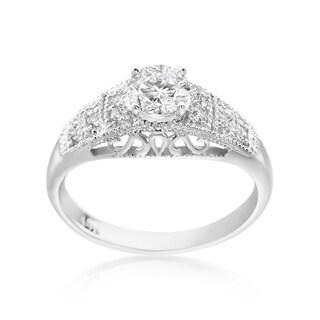 SummerRose 14k White Gold 3/4ct TDW Diamond Fashion Ring